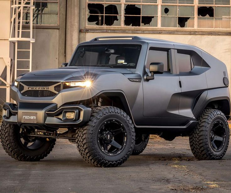 Rezvani Tank Tactical Urban Vehicle -- Let nobody attitude in your way when you get behind the disk of the Rezvani Tank diplomatic metropolitan vehicle. This behemoth bluster a 500 heat V8, on-demand 4×4, a top of the edge suspension system, and an onboard thermal/night view system.