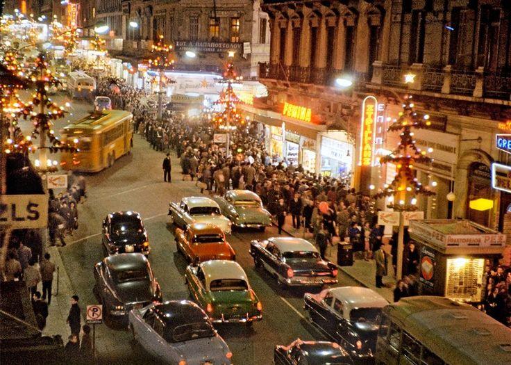 Αθήνα, Δεκέμβριος 1960