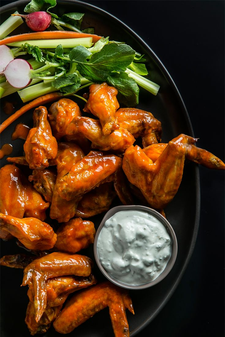 How to Make Perfect Game Day (Or every day) Wings in the Oven
