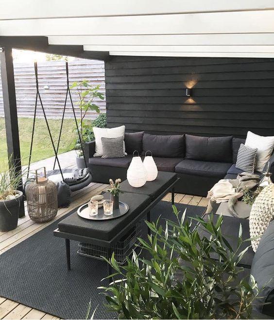 25+ aufregend schöne Outdoor-Wohnzimmer Ideen mit kleinem Budget – Simple 'N' Chic