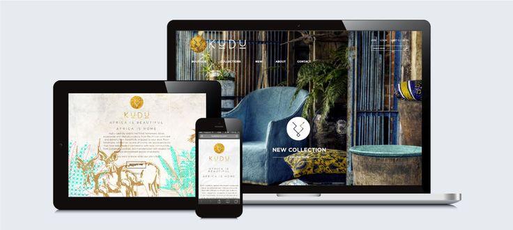 KuDu Online Boutique: Responsive Website Design, Development and Management by Electrik Design Agency www.electrik.co.za