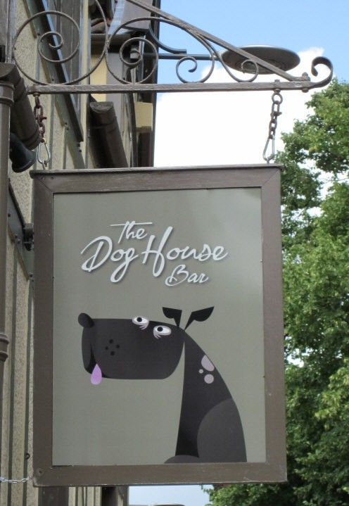 Pub and Shop Signs - The Dog House Bar