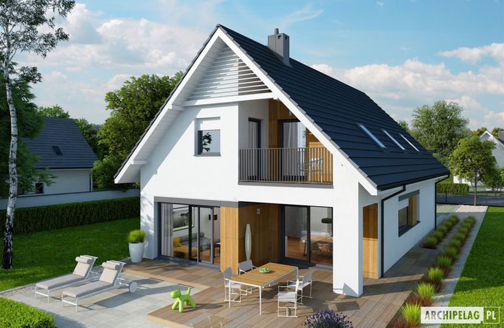 Projekty domów ARCHIPELAG - Riko G1