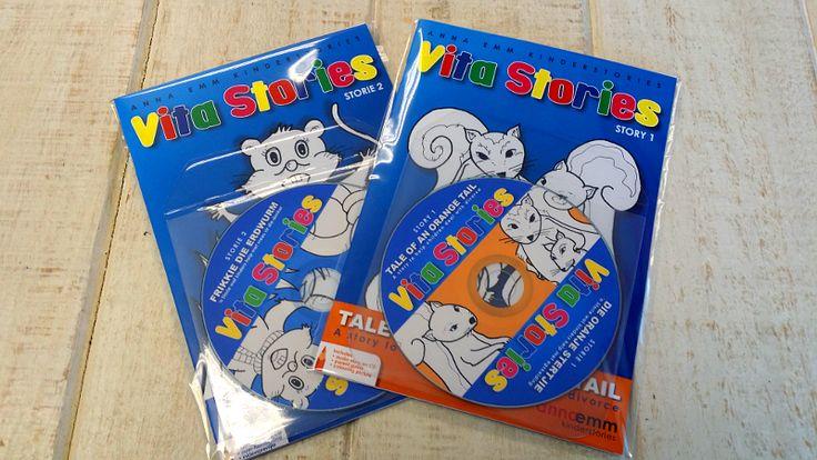 Anna Emm se gewilde Vita Stories reeks in Afrikaans en Engels!  Kinderstories wat help met sosiale kwessies!  www.AnnaEmm.co.za