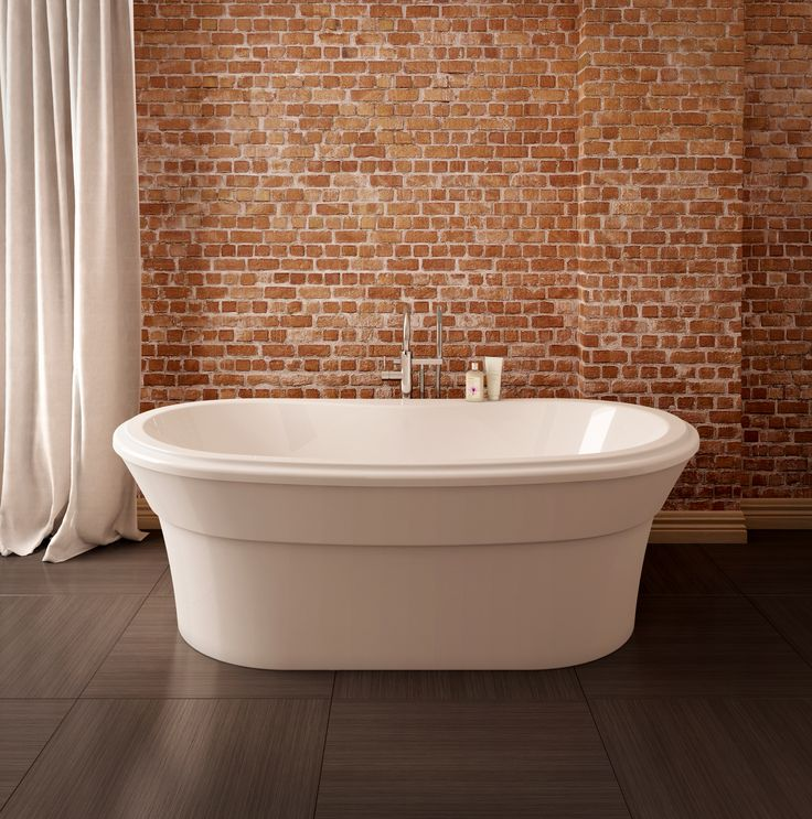 7 best images about acryline on pinterest a well for Best freestanding tub material