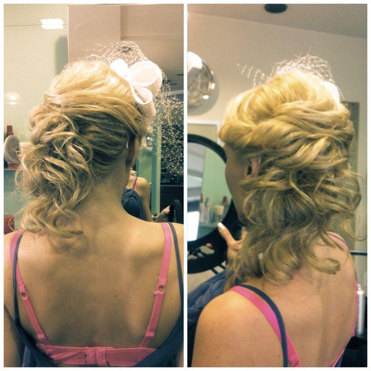 Weeding hairstyle