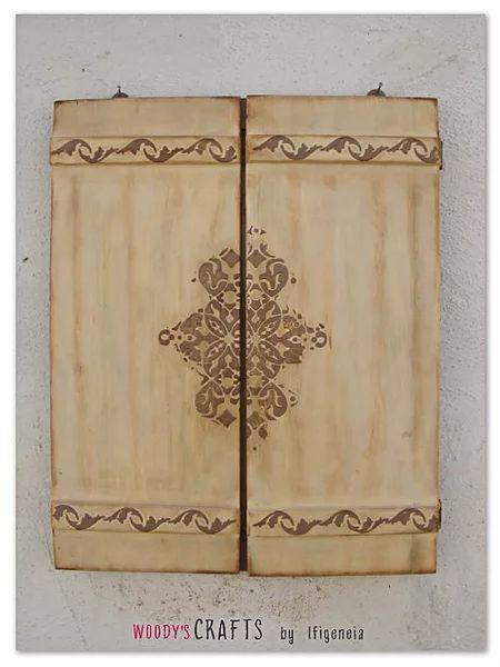 Ξύλινοι Χειροποίητοι Καθρέφτες για μια νότα ρομαντικής διάθεσης στο χώρο   Ιδέες για χειροποίητα δώρα
