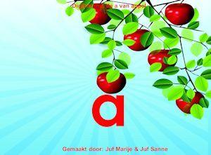 Digibordklankles de a van appel