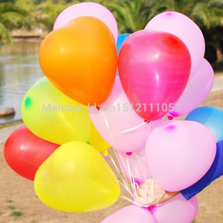 Goedkope 50 stuks/partij latex ballonnen 2.0g hartvormige ballon decoratie partij verjaardag bruiloft multicolor ballonnen aniversario bolas, koop Kwaliteit ballonnen rechtstreeks van Leveranciers van China: item foto' s: