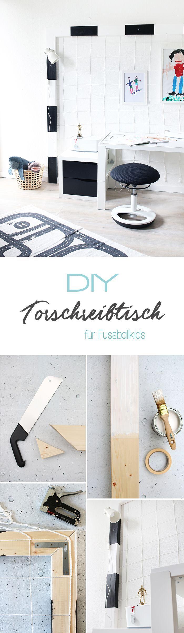 Do It Yourself Schreibtisch F R Fussballfans Selbst Bauen Hsvjakd Pinterest