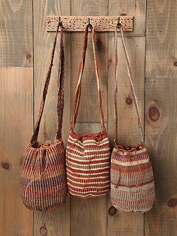 loves these handmade bags from Colombia