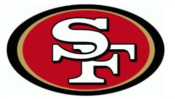 Red, white and gold, my American colors. #49ers