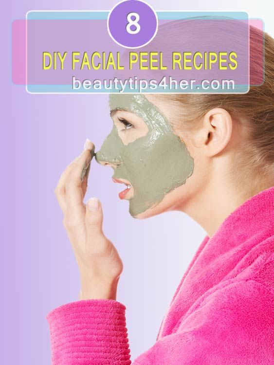 Homemade facial peels recipes