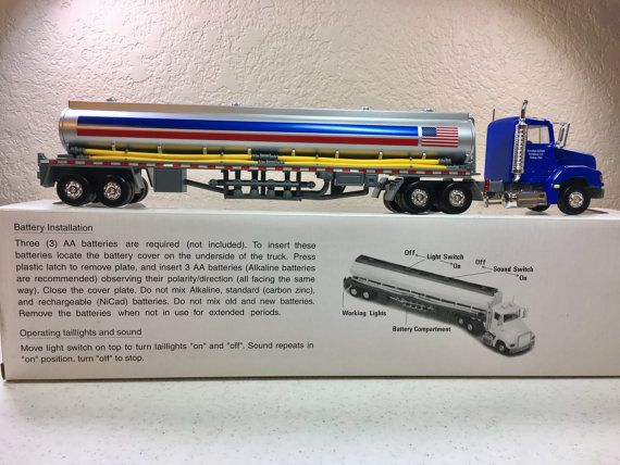 Vintage Marathon Oil Company Tractor Trailer by Oldtonewjewels