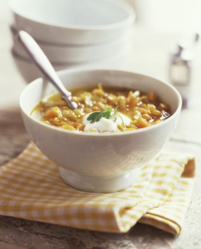 Vegetarian Indian Yellow Lentil Dhal Recipe (Vegan, Gluten-free)