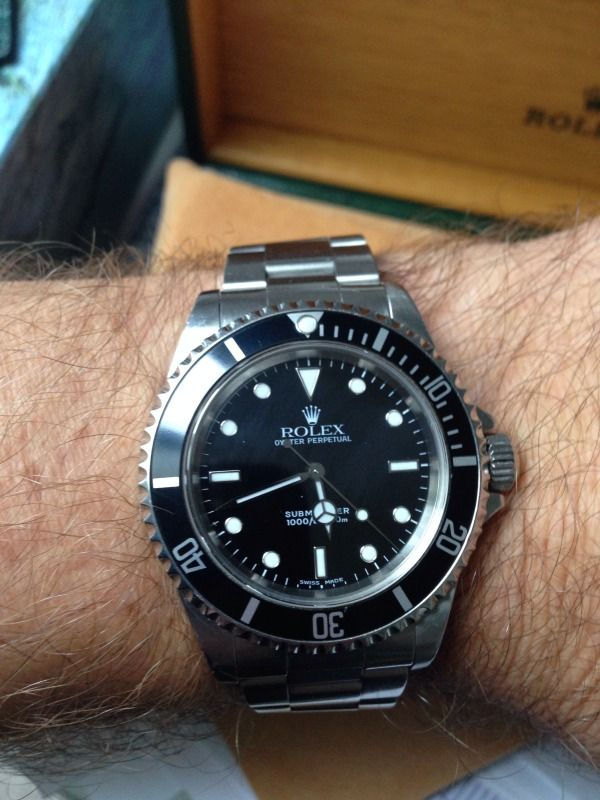 Rolex submariner no date - 2001