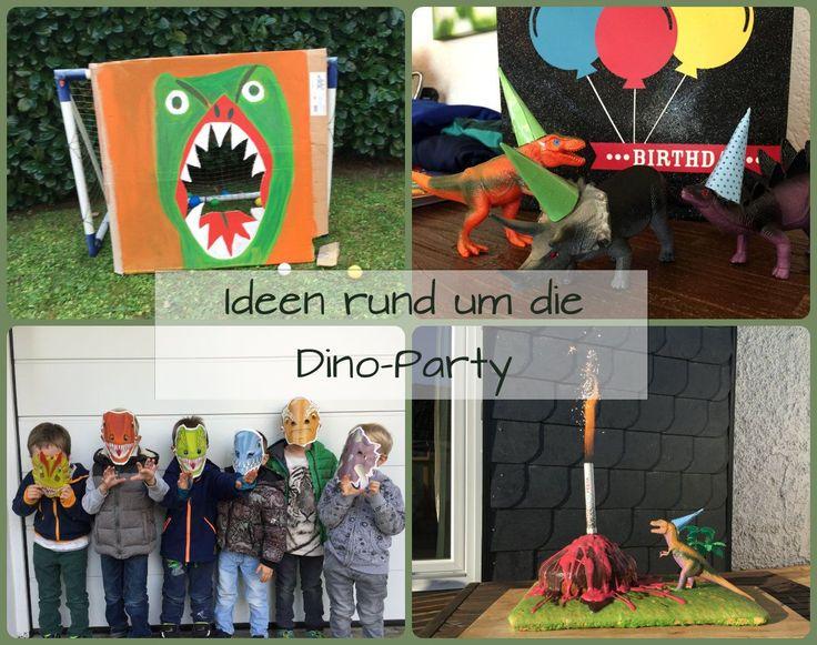 Dino Party zum Kindergeburtstag: wir zeigen euch wie wir unsere Mottoparty gefeiert haben. Dinosaurier Spiele, Dinokuchen, Deko mit Luftballons für die Dino Party uvm.: http://www.familienkost.de/dino_party_kindergeburtstag.php