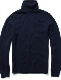 elegant plain black cashmere sweater
