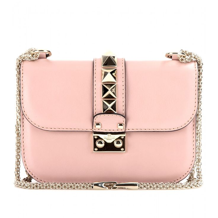 VALENTINO Lock small leather shoulder bag by www.giulialoves.com