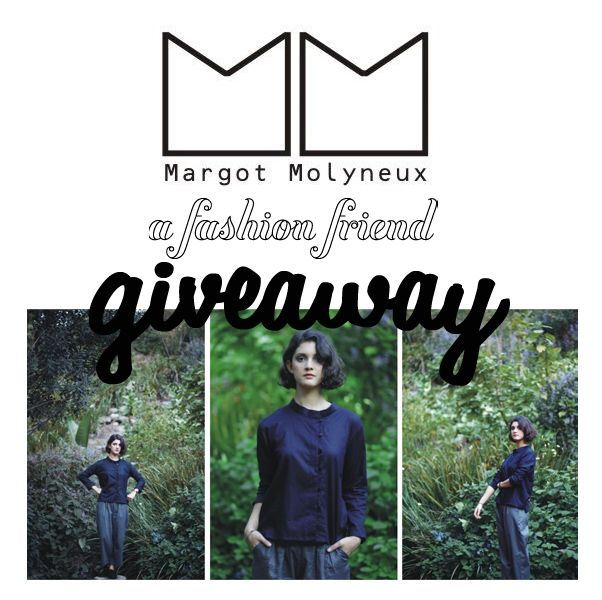 Margot Molyneux GIVEAWAY