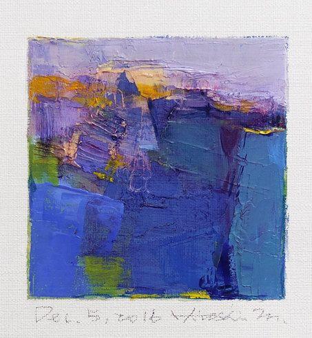 Dec. 5 2016 Original Abstract Oil Painting by hiroshimatsumoto