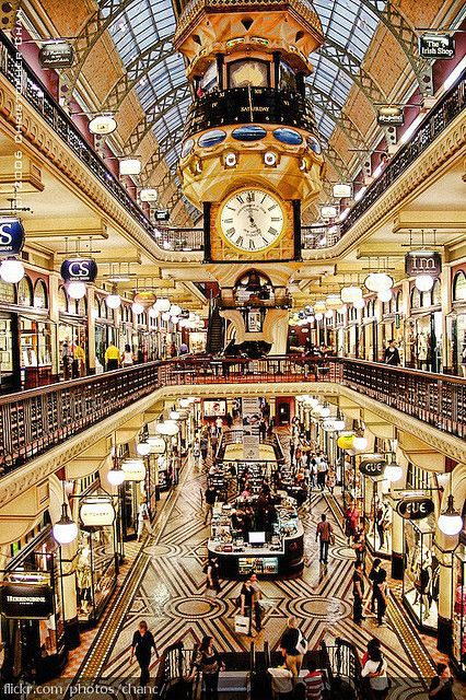 Queen Victoria Building - one of the places I want to visit in Sydney - not far from my hotel. #travel  #australia