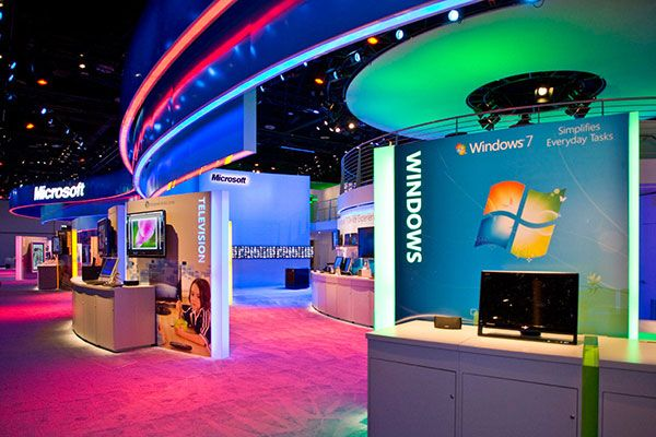37 best Stands images on Pinterest Exhibition booth design - innovatives interieur design microsoft