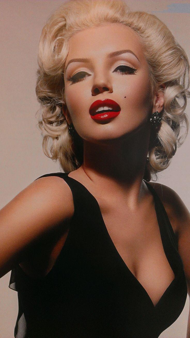 maquillaje stars...., marilyn monroe style