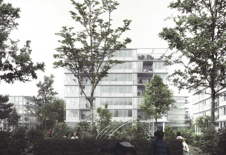 EM2N . Wollishofen housing . Zurich (1)
