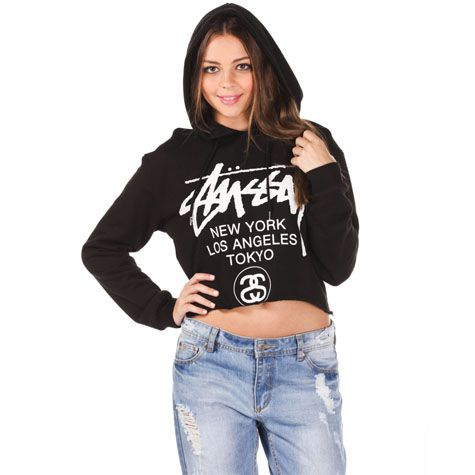 say it loud. say it proud  Stussy Cities Hooded Sweatshirt from City Beach Australia