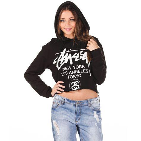 say it loud. say it proud  Stussy Cities Hooded Sweatshirt from City Beach Australia