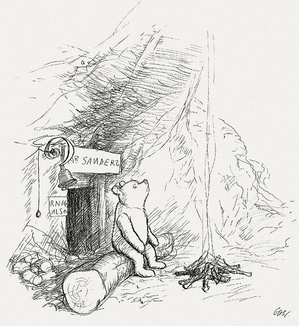 Winnie-the-Pooh, illustrated by E.H. Shepard