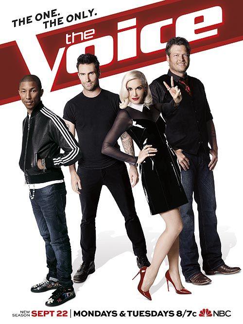 The Voice First Look: Gwen Stefani Leads the Pack in New Season 7 Poster...lovin the outfit gwen!!!!! can't wait!