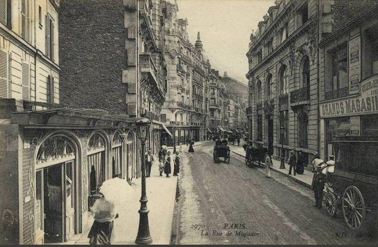 rue de Mogador - Paris 9ème