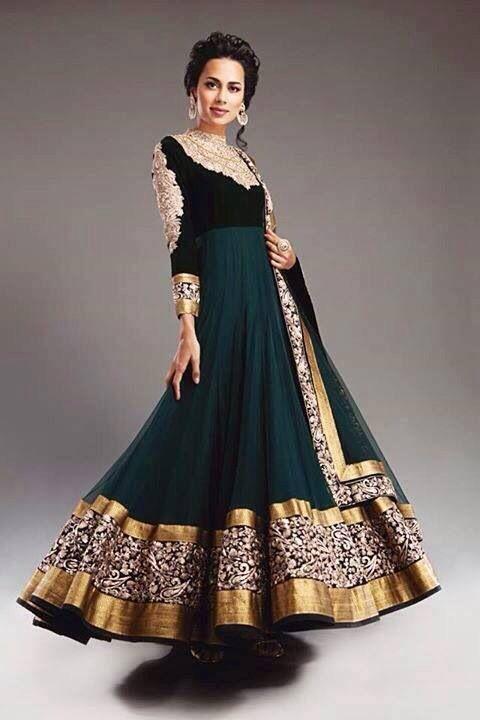 Black elegant long gown