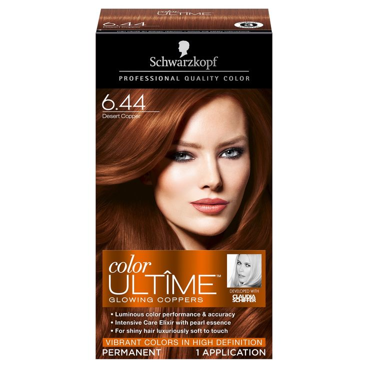 Schwarzkopf Color Ultime Glowing Coppers Hair Color 6.44 Desert Copper - 2.03 fl oz