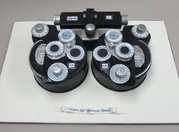 Optometry Graduation Cake