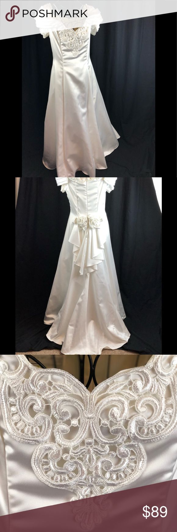 Best 25 jessica mcclintock ideas on pinterest gunne sax vintage jessica mcclintock wedding dress sz 12 ombrellifo Images