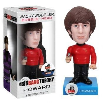 howard star trek cabezon 18 cm wacky wobbler #TheBigBangTheory #TBBT #Funko