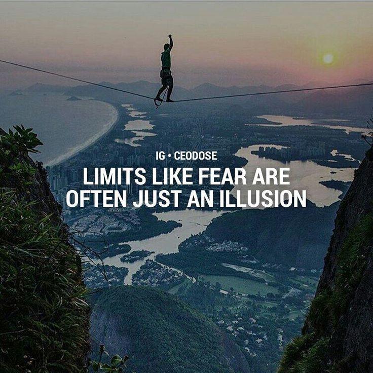 Limits exist only in the mind.  Fear is something we all have and few can control. Learn to control it and you will manage risk and problems better.    @instagram @selenagomez @taylorswift @arianagrande @beyonce @kimkardashian @justinbieber @cristiano @kyliejenner @nickiminaj @kendalljenner @therock @Nike @natgeo @neymarjr @khloekardashian @katyperry @leomessi @jlo @mileycyrus @kourtneykardash @ddlovato @victoriassecret @badgalriri @kevinhart4real @fcbarcelona @realmadrid @theellenshow…