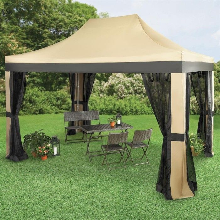 Brylanehome 10u2032 X 15u2032 Instant Pop Up Gazebo With Screen u2013 $269.99 & 13 best 11 Great Pop Up Gazebos on Amazon images on Pinterest ...