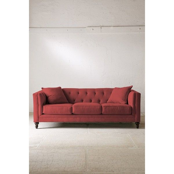Graham Microfiber Sofa 1 785 Cad Liked On Polyvore