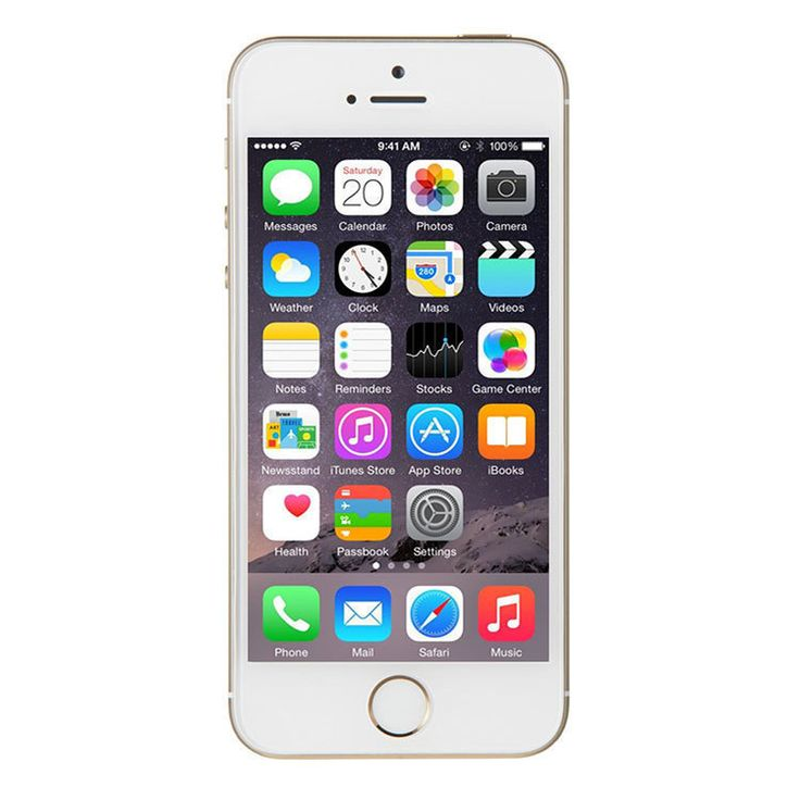 Refurbished iPhone 5S Verizon Gold 64GB (ME349LL/A) (A1533)