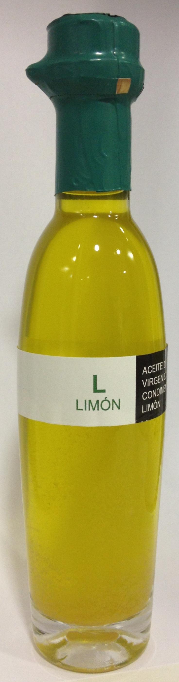 Aceite de oliva virgen extra ecostean con limón!