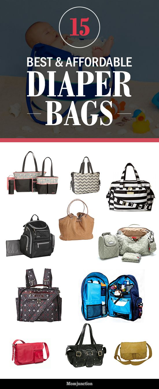15 Best And Affordable Diaper Bags