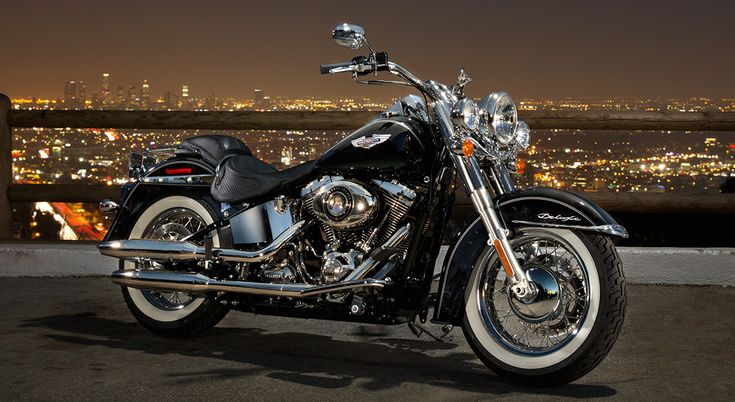 Softail® Deluxe Pure nostalgic beauty wrapped around completely modern power and performance :)