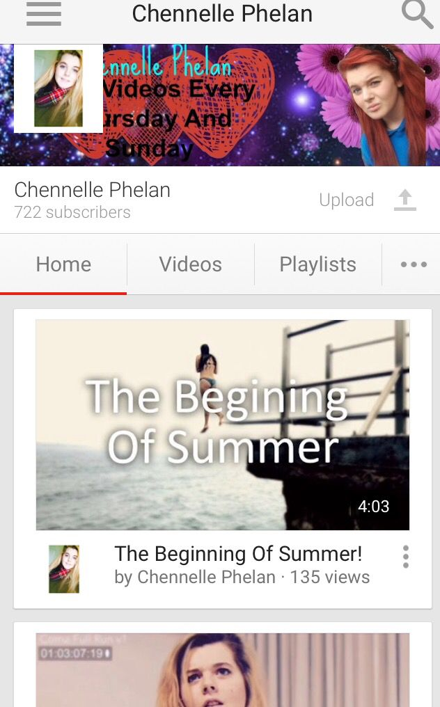 Check out my YouTube YouTube.com/Chennelle