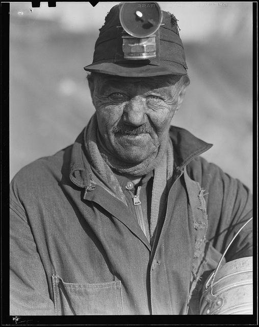 Scott's Run, West Virginia. Unemployed miner, March 1937 | National Archives via Flickr.