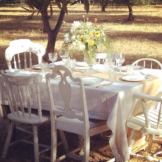 A Beautiful Photo Shoot At Soul Food Farm With Chairs Painted In Chalk Paint Decorative Paint