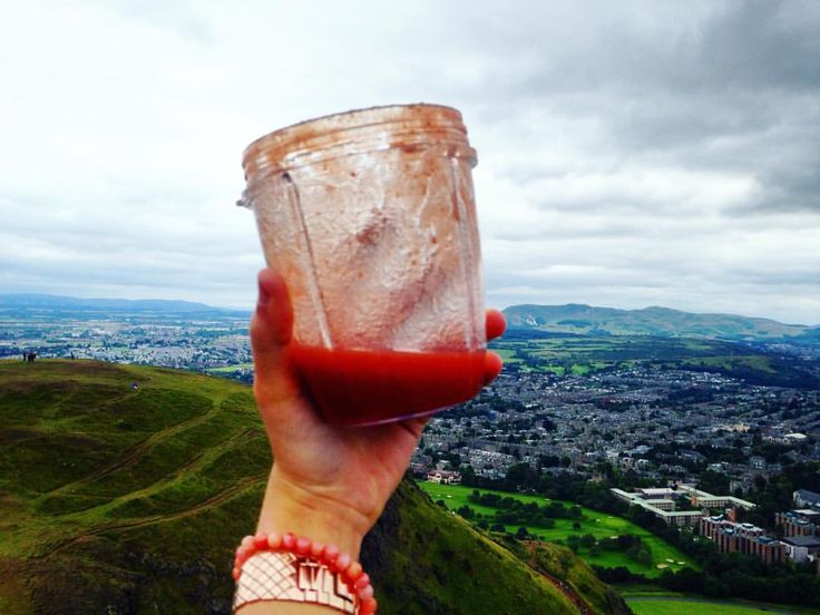 "31 Likes, 2 Comments - Iman (@ibgarbi) on Instagram: ""Proof! At the top! Nothing like a great smoothie after a hike but with views this great it was so…"""